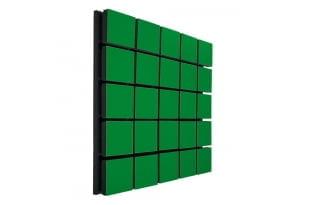 Акустический панель Ecosound Tetras Wood Green 50x50см 50мм цвет зелёный