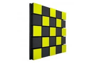Акустическая панель Ecosound Tetras Acoustic Wood Yellow 50x50см 50мм цвет жёлтый