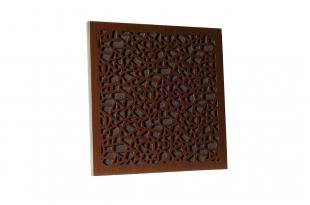 Акустическая Ecosound панель EcoArt brown 50х50 см цвет коричневый
