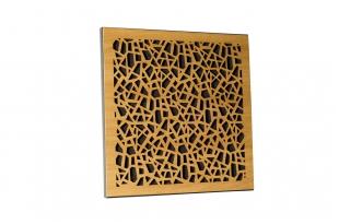Акустическая панель Ecosound EcoArt cream 50х50 см Светлый  дуб