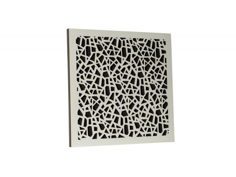 Акустическая панель Ecosound EcoArt white 50х50 см цвет белый