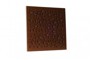 Акустическая панель Ecosound EcoFly brown 50х50 см цвет коричневый