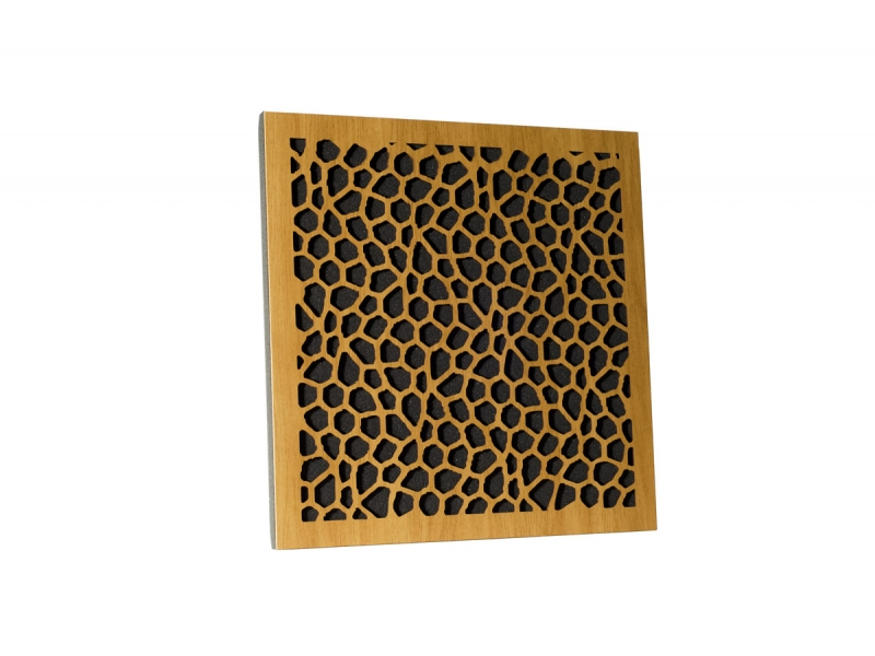 Акустическая панель Ecosound EcoNet cream 50х50 см цвет Светлый  дуб