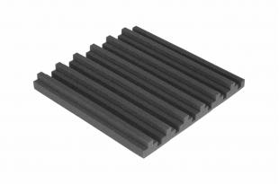 Панель из акустического поролона Ecosound TOWN 50мм, 50х50см цвет черный графит