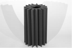 Бас ловушка Ecosound ПИЛА(SAW) 0,6х0,35х0,1 м Цвет черный графит