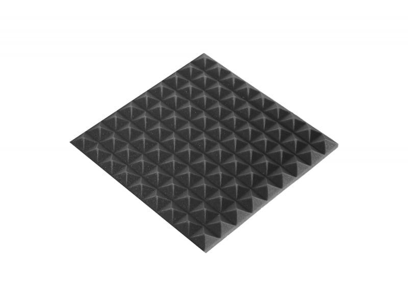 Панель из акустического поролона Ecosound пирамида Mini 30мм 45х45см ,черный графит