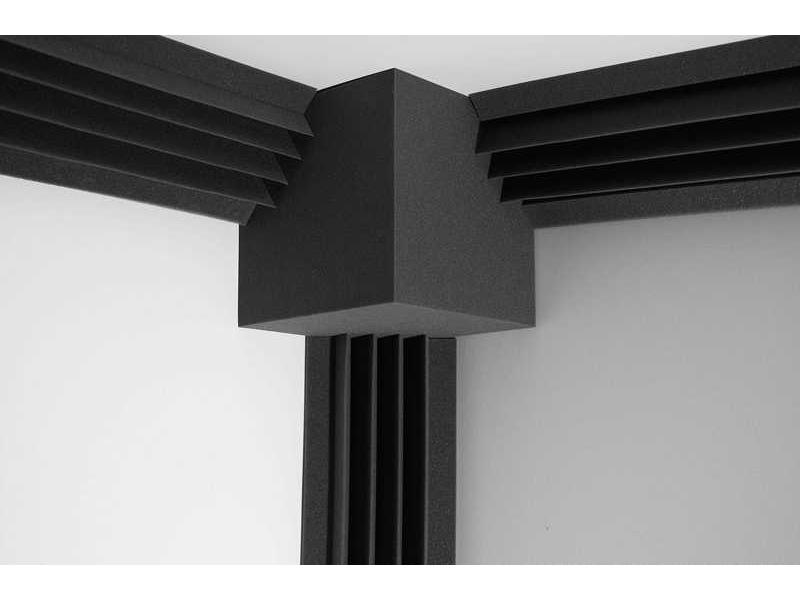 Комплект Ecosound Пила угловая 3 штуки(по 2м)+КУБ Цвет черный графит