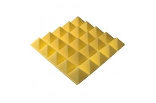 Панель из акустического поролона пирамида Ecosound Pyramid Gain Yellow 70 мм.45х45см