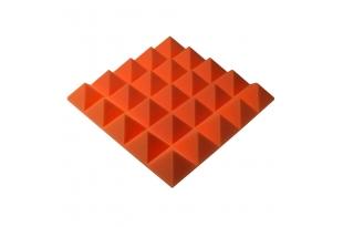 Панель из акустического поролона пирамида Ecosound Pyramid Gain Orange 70 мм.45х45см цвет оранжевый