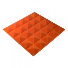 Панель из акустического поролона пирамида Ecosound Pyramid Gain Orange 30 мм.45х45см цвет оранжевый