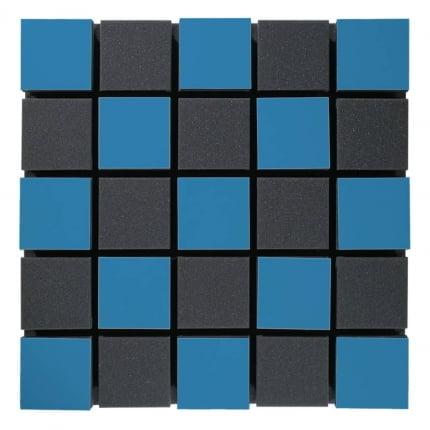 Превью Акустическая панель Ecosound Tetras Acoustic Wood Blue 50x50см 50мм цвет синий
