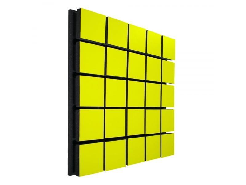 Акустический панель Ecosound Tetras Wood Yellow 50x50см 50мм цвет жёлтый