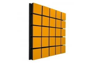 Акустический панель Ecosound Tetras Wood Orange 50x50см 50мм цвет оранжевый