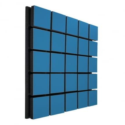 Акустическая панель Ecosound Tetras Wood Blue 50x50см 50мм цвет синий