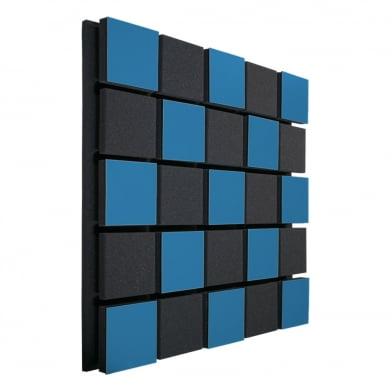 Акустическая панель Ecosound Tetras Acoustic Wood Blue 50x50см 50мм цвет синий
