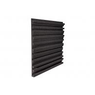 Панель из акустического поролона Ecosound Manhattan mini. 30мм 50х50см Цвет черный графит