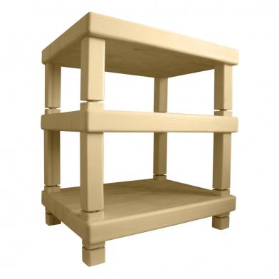 Купить подставки под акустическую аппаратуру ecosound professional wood mini  66х50 цвет светлый дуб по низкой цене