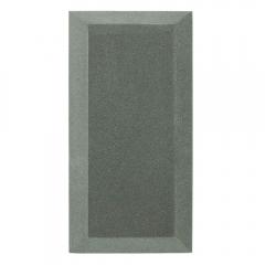 Бархатная акустическая панель из акустического поролона Ecosound Velvet Grey 50х25см 50мм. Цвет серый