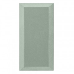 Бархатная акустическая панель из акустического поролона Ecosound Velvet White 50х25см 50мм. Цвет белый