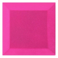 Бархатная акустическая панель из акустического поролона Ecosound Velvet Pink 25х25см 50мм Цвет розовый