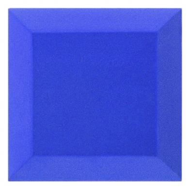 Купить бархатная акустическая панель из акустического поролона ecosound velvet blue 25х25см 50мм. цвет синий по низкой цене