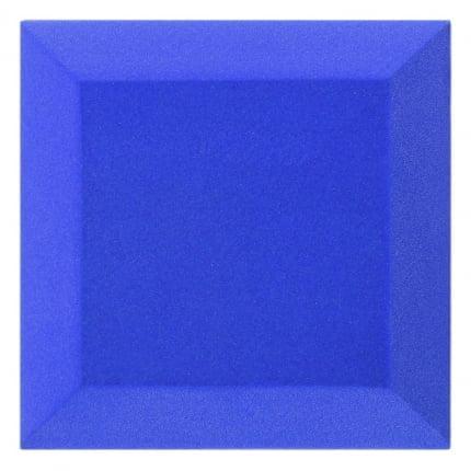 Бархатная акустическая панель из акустического поролона Ecosound Velvet Blue 25х25см 50мм. Цвет синий