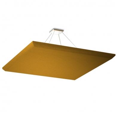 Акустическая подвесная звукопоглощающая панель Quadro Orange.