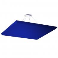 Акустическая подвесная звукопоглощающая панель Ecosound Quadro Blue. 50мм 1х1м Цвет синий