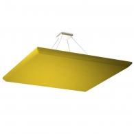 Акустическая подвесная звукопоглощающая панель Ecosound Quadro Yellow. 50мм 1х1м Цвет жёлтый