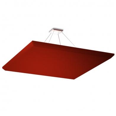 Купить акустическая подвесная звукопоглощающая панель ecosound quadro red. 50мм 1х1м цвет красный по низкой цене
