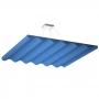 Купить акустическая подвесная  звукопоглощающая панель ecosound quadro wave blue. 50мм 1х1м цвет синий по низкой цене