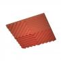 Купить акустическая подвесная звукопоглощающая панель ecosound quadro acoustic wave red. 50мм 1х1м цвет красный по низкой цене