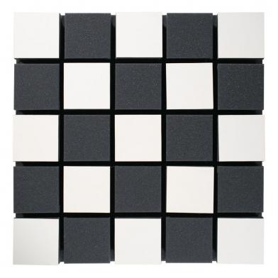 Купить акустическая панель ecosound tetras acoustic wood white 50x50см 33мм цвет белый по низкой цене