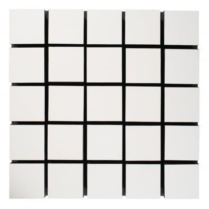 Превью Акустическая панель Ecosound Tetras Wood White 50x50см цвет белый