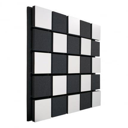 Акустическая панель Ecosound Tetras Acoustic Wood White 50x50см цвет белый