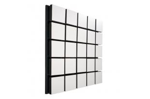 Акустический панель Ecosound Tetras Wood White 50x50см цвет белый
