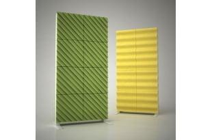 Акустическая ширма Ecosound Acoustic Wave color 200х100 цвет зеленый