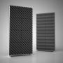 Превью Акустическая ширма Ecosound Acoustic Wave 200х100 см цвет черный графит
