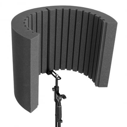 Превью Акустический экран для микрофона Ecosound Ecos Shiled 53х40см 80мм цвет черный графит