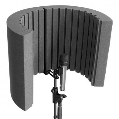 Купить акустический экран для микрофона ecosound ecos shiled 53х40см 80мм цвет черный графит по низкой цене