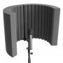 Превью Акустический экран для микрофона Ecosound Ecos Wave 53х40см 80мм цвет черный графит