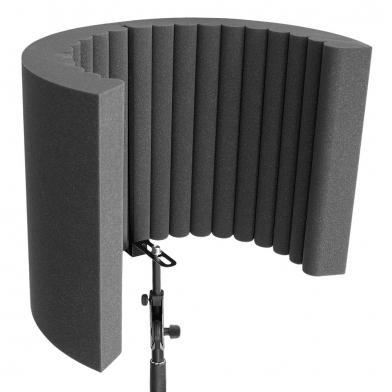 Купить акустический экран для микрофона ecosound ecos wave 53х40см 80мм цвет черный графит по низкой цене