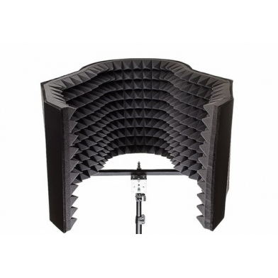 Купить акустический экран для микрофона ecosound xl 100х85 см цвет черный по низкой цене
