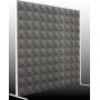 Превью Акустическая ширма Ecosound Acoustic Pyramid 200х200 см цвет черный графит