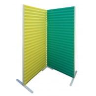 Акустическая ширма Ecosound Acoustic Wave 200х100 multicolor