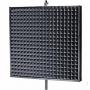 Превью Акустический экран для микрофона плоский Ecosound 1x1 метр цвет черный