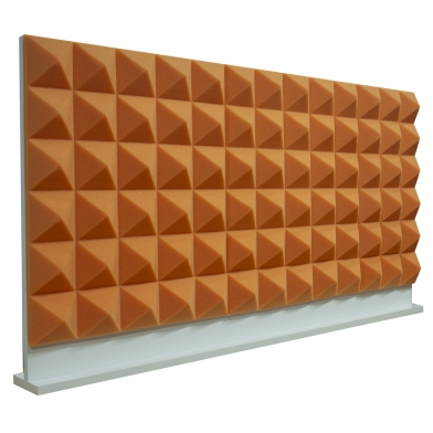 Купить комплект акустических ширм на стол для колл-центров ecosound tetras green 60х60 см зеленый 3 шт. по низкой цене