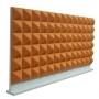 Купить настольная акустическая ширма для офисных столов ecosound pyramid orange 1200 х 600 оранжевая по низкой цене