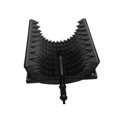 Купить акустический экран для микрофона ecosound l 50х50 см цвет черный по низкой цене