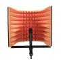 Купить акустический экран для микрофона ecosound l 50х50 см цвет оранжевый по низкой цене